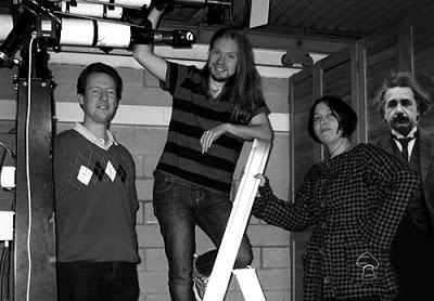 Gunnar, Katja, Einstein och jag