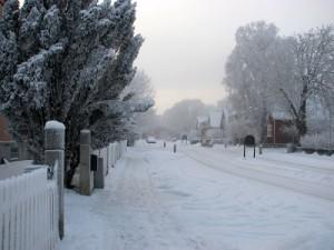 Mer snö.