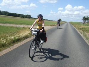 I brist på vinterykelbild tar jag en på när vi cyklade till Köpenhamn häromsistens.