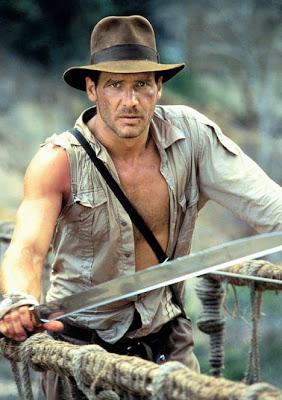Vi får ta ett snack om det här, Indiana Jones!