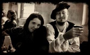 Agnes och Arvid på Nunnan.