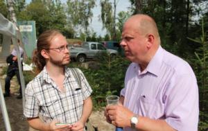 Vi ställde några frågor till landsbygdsministern. Foto: Agneta Carlsson