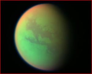 Bilden visar Saturnusmånen Titan, i brist på bättre motiv.