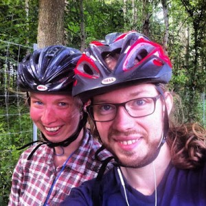 Cykling söderut.