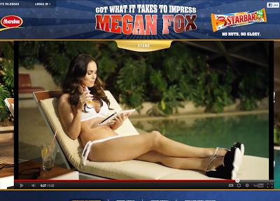 Megan Fox och håriga armhålor