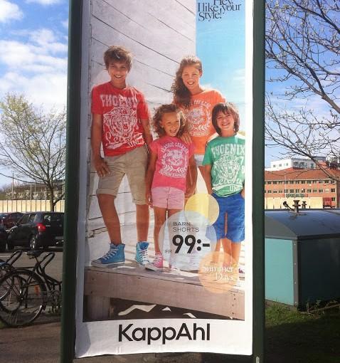På KappAhl säljer de ladugårds-shorts!