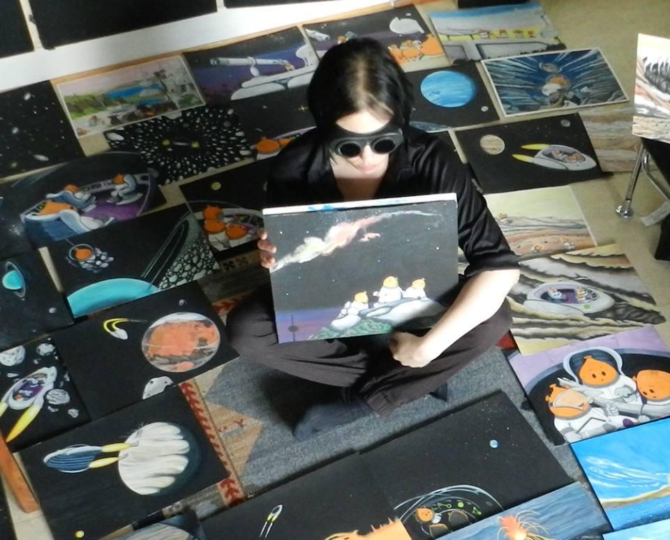 Konstnären bakom Nomadplaneten